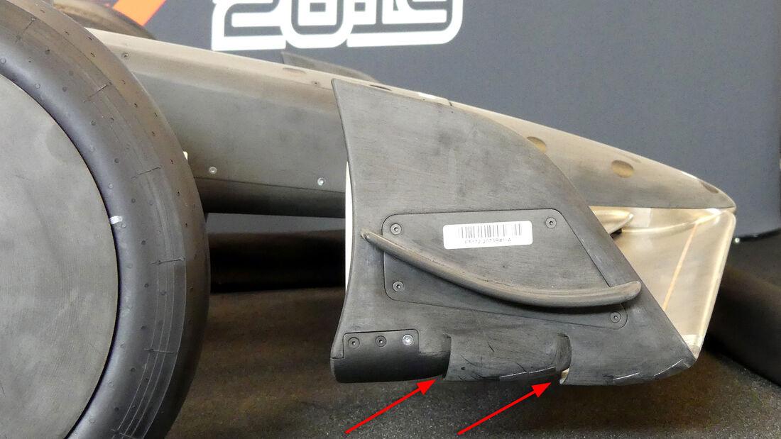 Formel 1 - Windkanalmodell - 2021