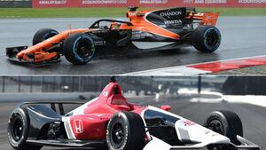 Formel 1 vs. IndyCar