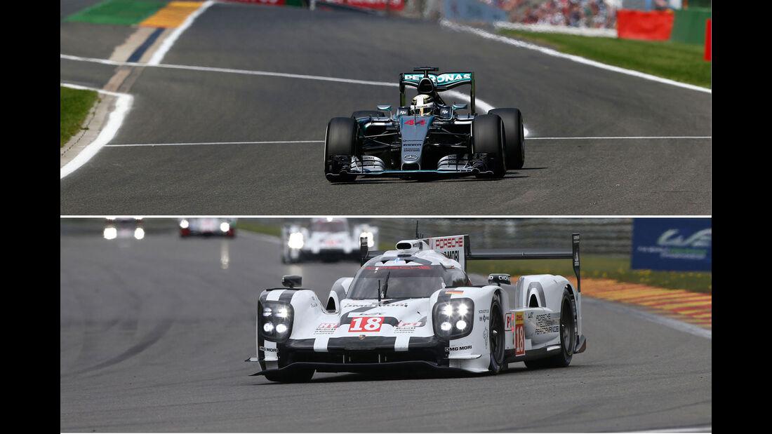 Formel 1 vs. WEC - Aufmacher
