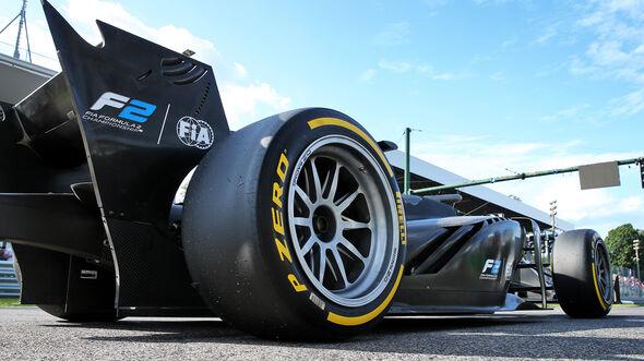 Formel 2 - 18 Zoll  -  GP Italien - Monza - 7. September 2019