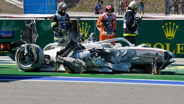 Formel 2 Crash - Russland - Sotschi 2020