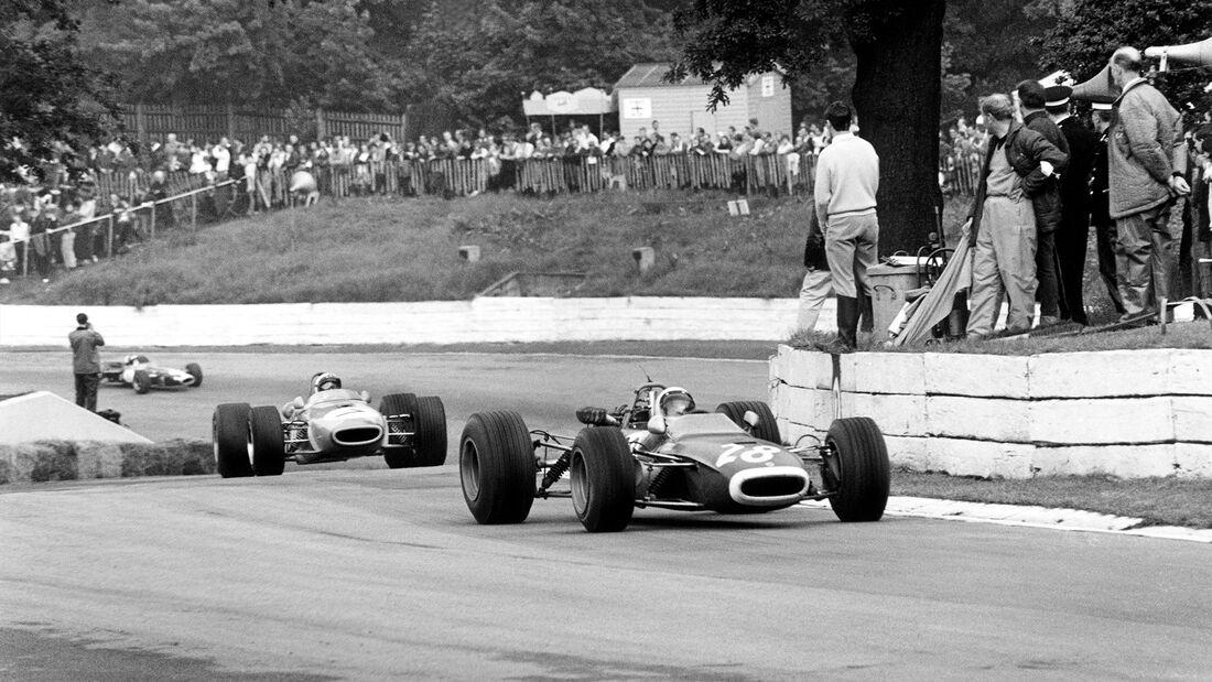Formel 2 - London Trophy - Crystal Palace Circuit - Clay Regazzoni - 1968