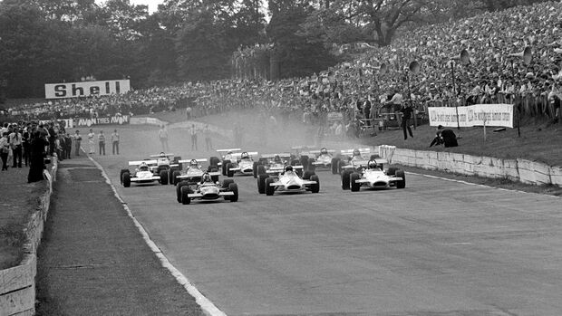 Formel 2 - London Trophy - Crystal Palace Circuit - Start 1970