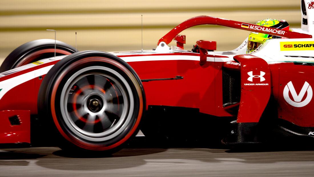 Formel 2 Test Bahrain 2020 - Mick Schumacher