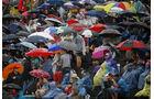 Formel 3 2012 Norisring, Zuschauer, Publikum, Regen