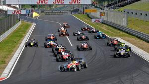 Formel 3-EM 2016 - Ungarn - Hungaroring - Start - 2. Rennen