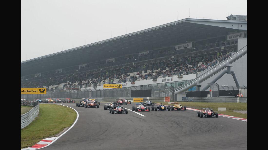 Formel 3-EM, Nürburgring, 1. Rennen