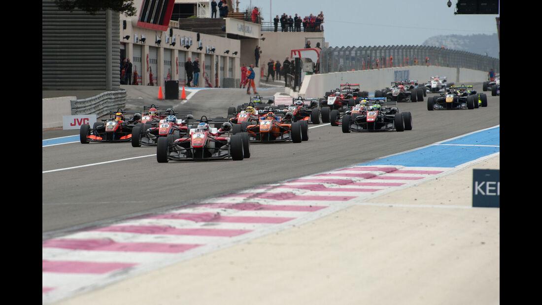 Formel 3-EM - Paul Ricard - Start - 2. Lauf