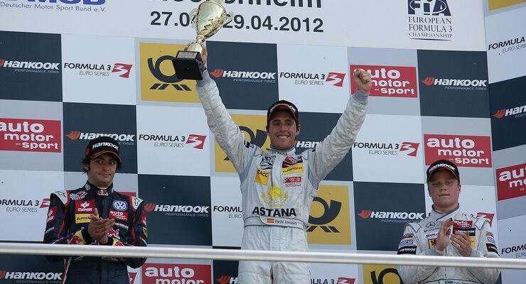 Formel 3 Euroserie, Hockenheim, Daniel Juncadella