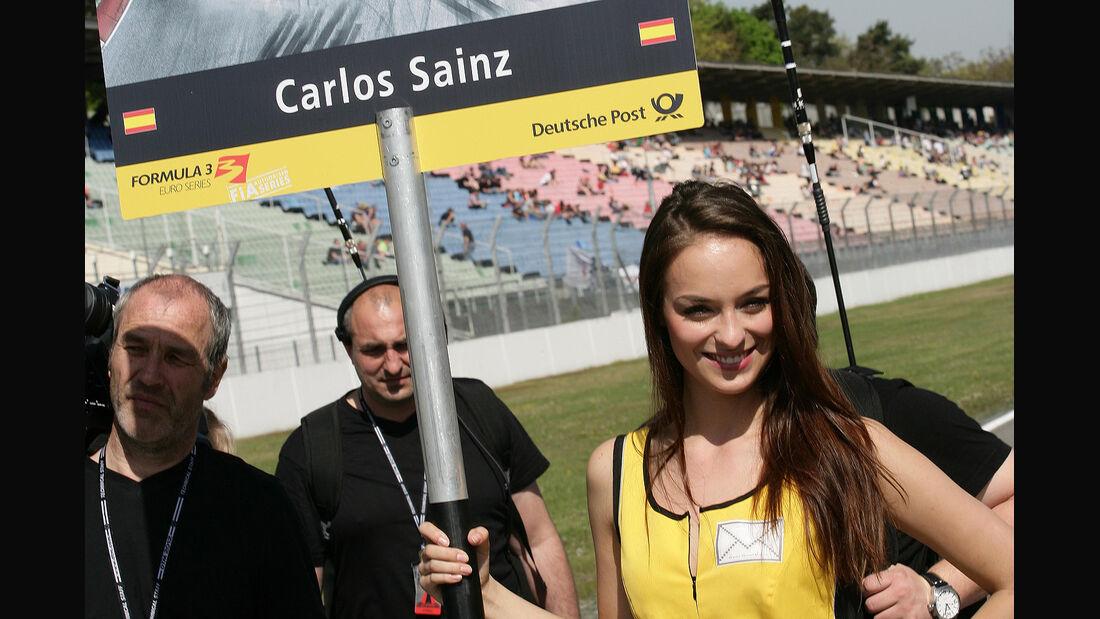 Formel 3 Euroserie, Hockenheim, Grid Girl