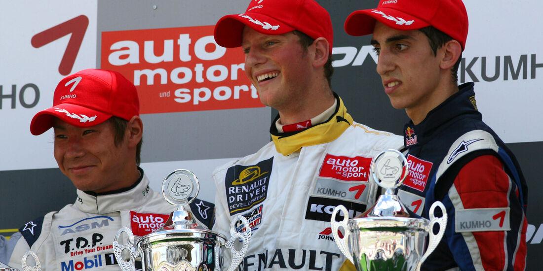 Formel 3 Grosjean Buemi Kobayashi