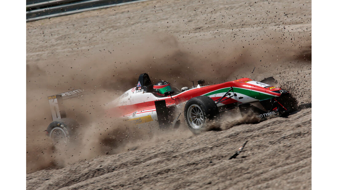 Formel 3-Masters - Zandvoort - Crash - 2013
