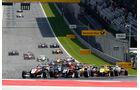 Formel 3 - Österreich 2014 - Spielberg - Red Bull Ring - Rennen 1 - Start