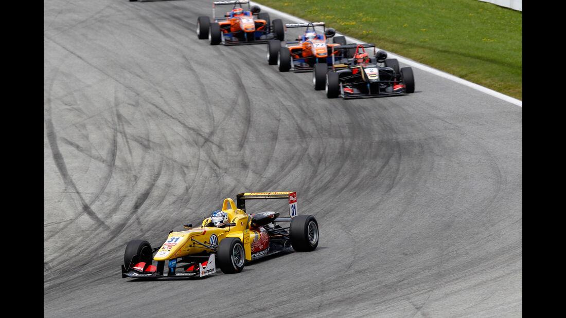 Formel 3 - Österreich 2014 - Spielberg - Red Bull Ring - Rennen 2 - Tom Blomqvist