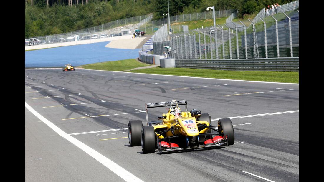 Formel 3 - Österreich 2014 - Spielberg - Red Bull Ring - Rennen 3 - Antonio Giovinazzi