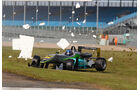 Formel 3 Silverstone - Crash - 2013