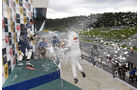 Formel 3 Spielberg 2012, Rennen 2, Siegerehrung William Buller, Michael Lewis