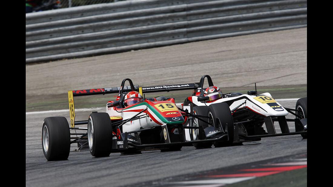 Formel 3 Spielberg 2012, Rennen 3, Raffaele Marciello, Philip Ellis