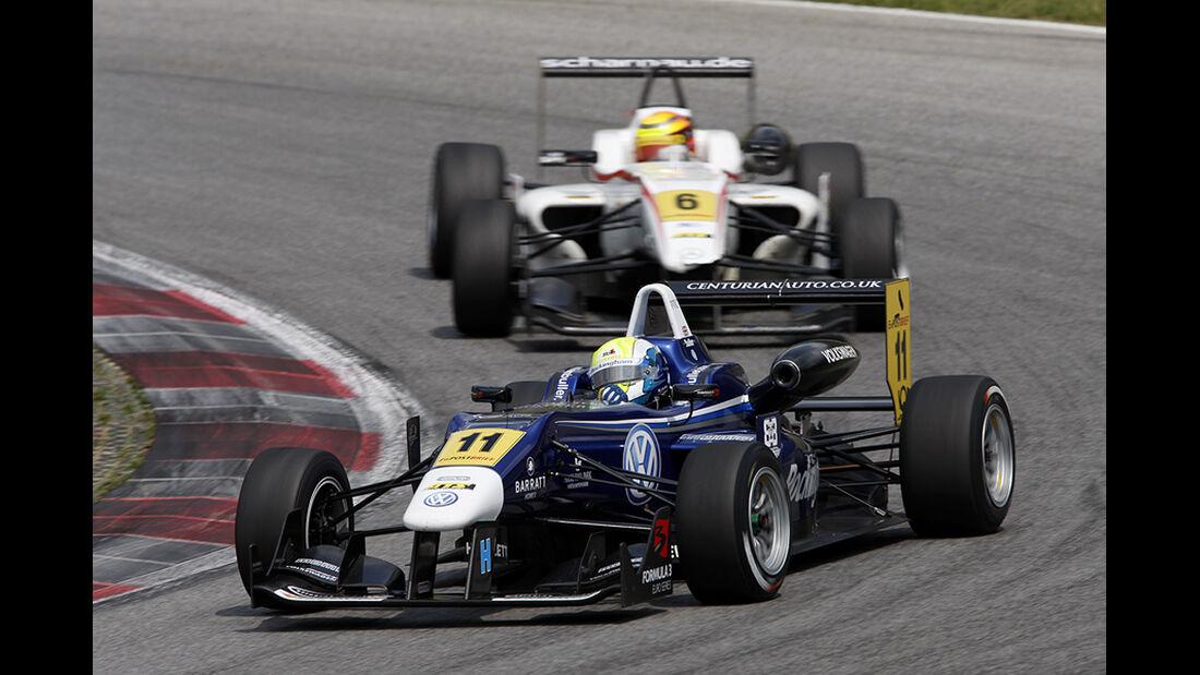 Formel 3 Spielberg 2012, Rennen 3, William Buller, Pascal Wehrlein