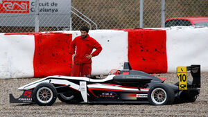 Formel 3 Test Barcelon 2012