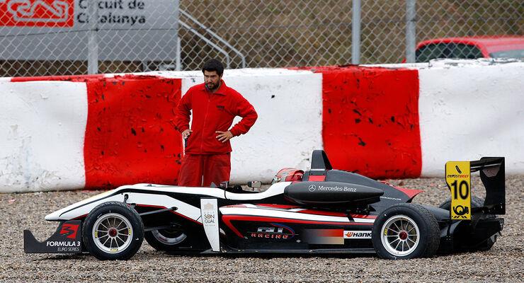 Formel 3 Test Barcelon 2012