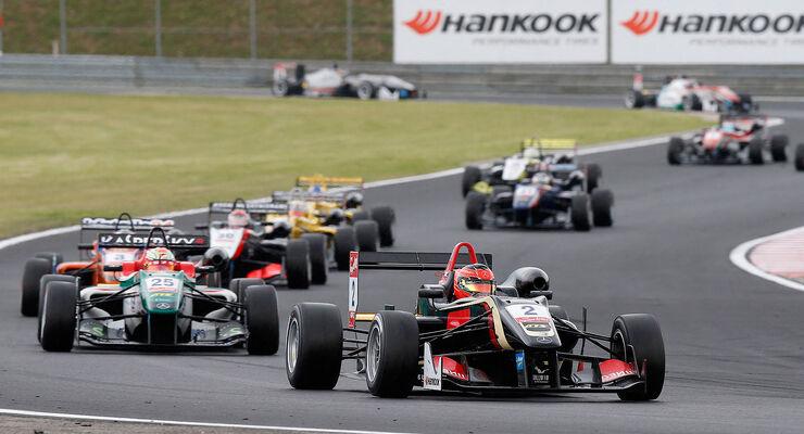 Formel 3 Ungarn Budapest 2014