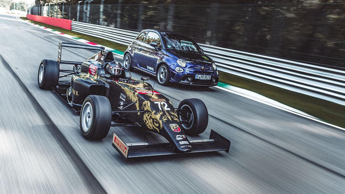 Formel 4 und Abarth 595C