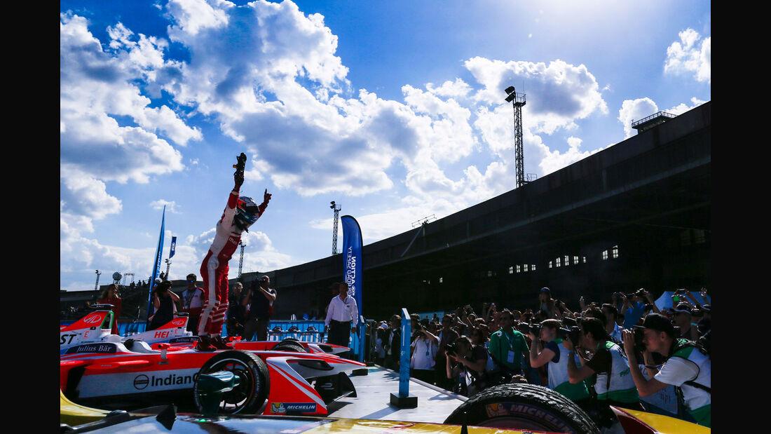 Formel E - Berlin - Rosenqvist - Mahindra