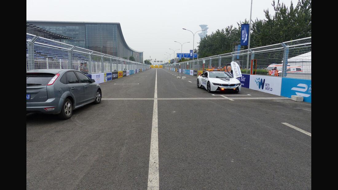 Formel E - China - Peking - 1. Rennen - Trackwalk - Rennstrecke - Formula E Beijing ePrix - 12.09.2014
