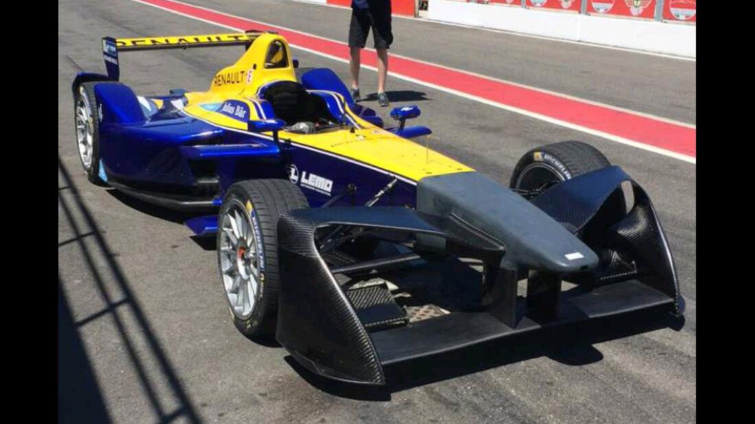 Formel E - Frontflügel 2016