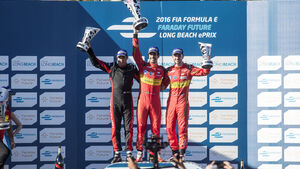 Formel E - Long Beach - Podium - 2016