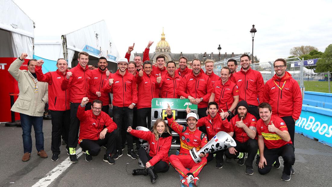 Formel E - Lucas di Grassi - Abt Schaeffler Audi Sport - Paris ePrix