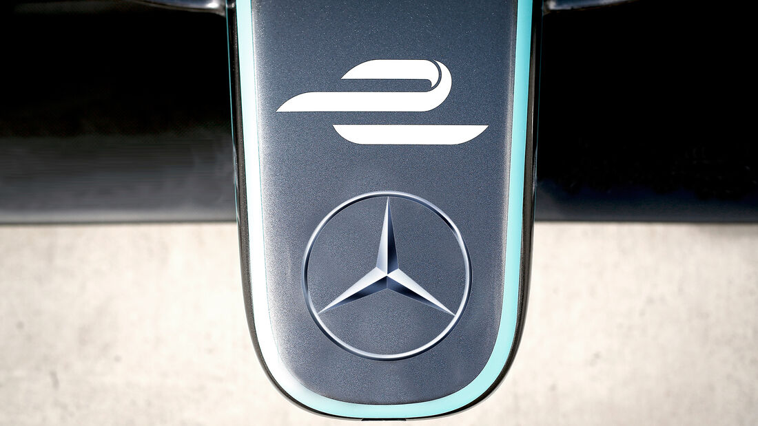 Formel E - Mercedes - Collage