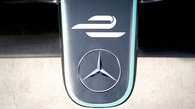 Formel E - Mercedes - Collage