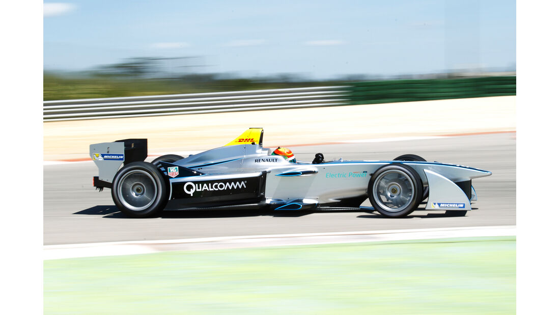 Formel E - Michelin Reifentest 2014