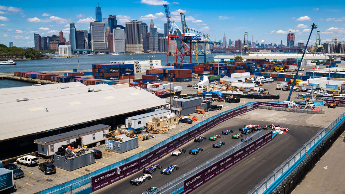 Formel E - New York 2017 - Elektrorennwagen