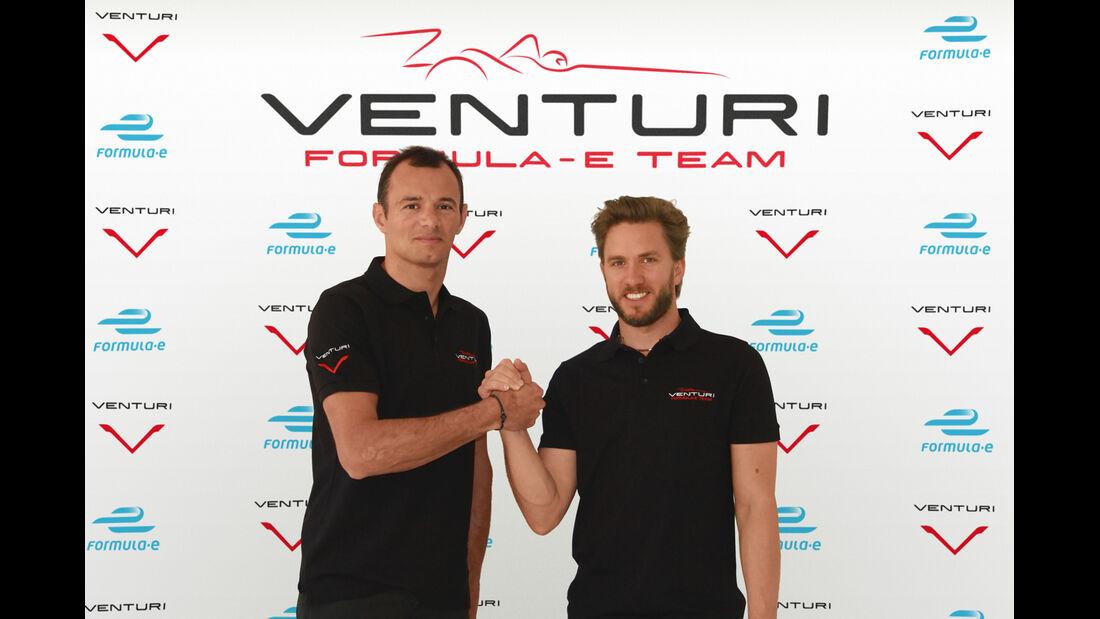 Formel E - Nick Heidfeld & Stephane Sarrazin - 2014