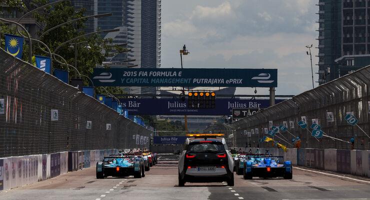 Formel E - Putrayaja - Malaysia - 2015