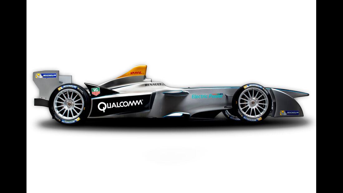 Formel E STR 01 Rennwagen - IAA Frankfurt 2013