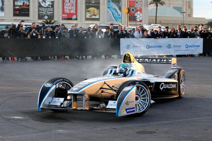 Formel E - Showrun - Las Vegas - 2014