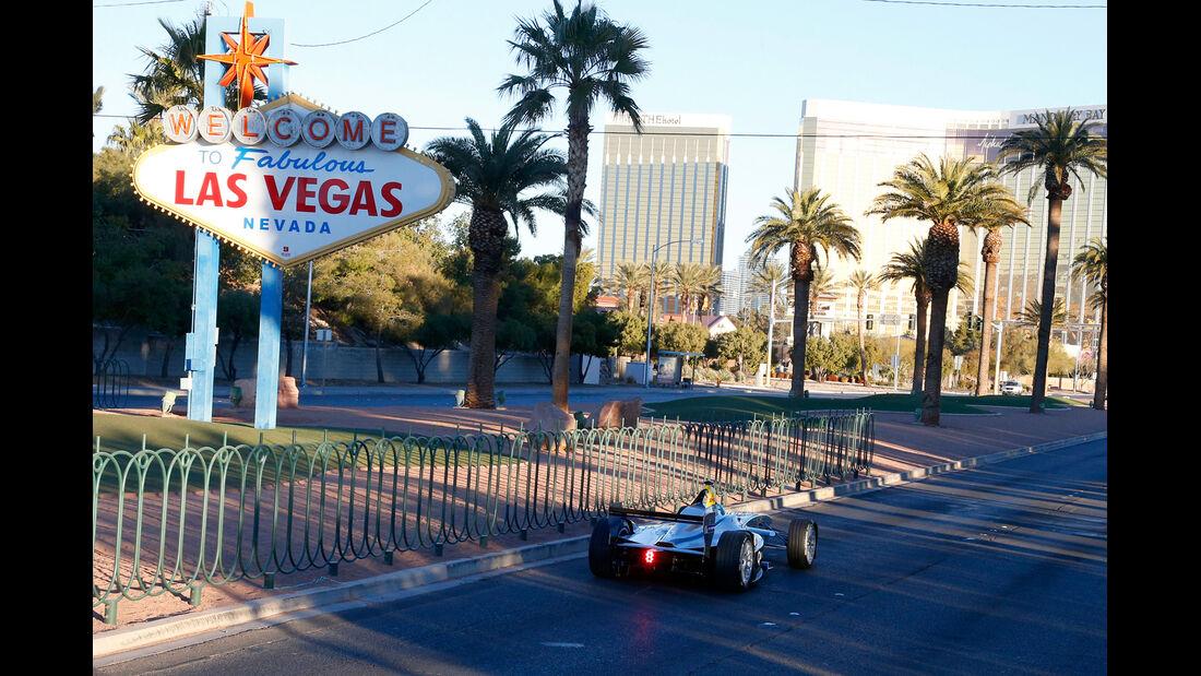 Formel E - Showrun - Las Vegas - 2015