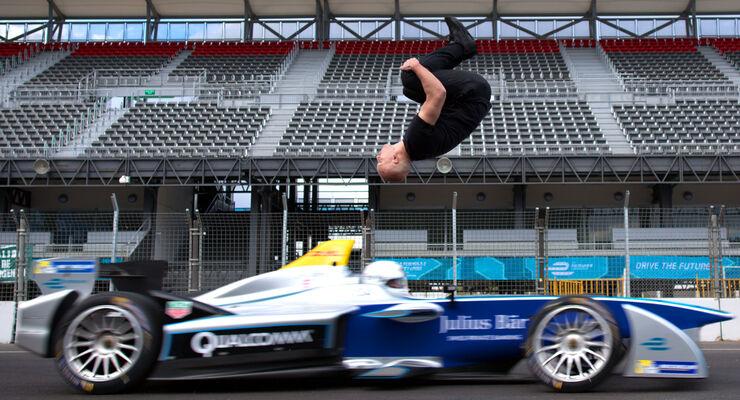 Formel E - Stunt - Salto - 2016
