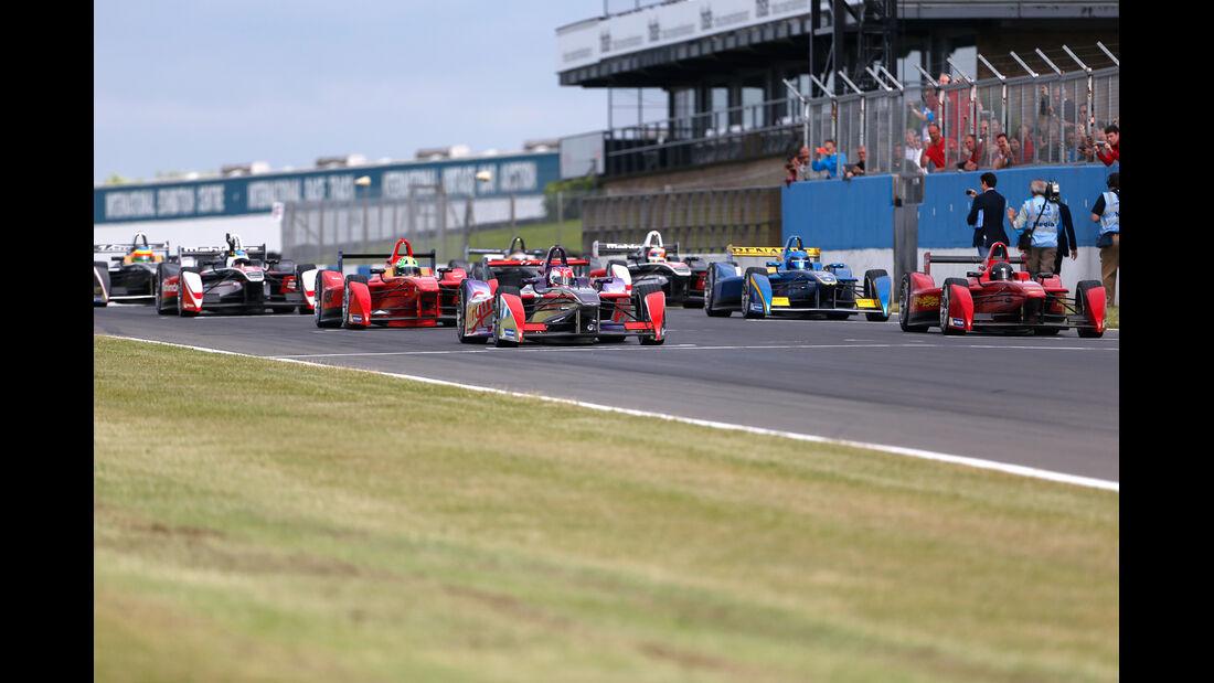 Formel E-Test - Donington - 07/2014