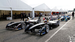 Formel E - Test Donington 2014
