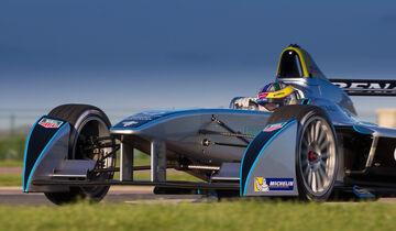 Formel E - Testfahrt