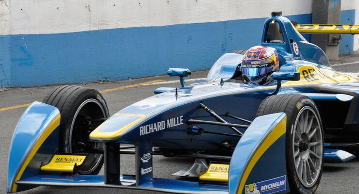 Formel E - Testfahrten - Donington - 19.08.2014