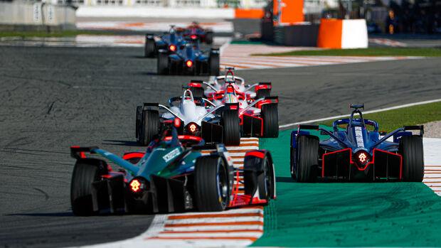 Formel E - Testfahrten - Valencia