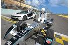 Formel E, Tracktest, Impression