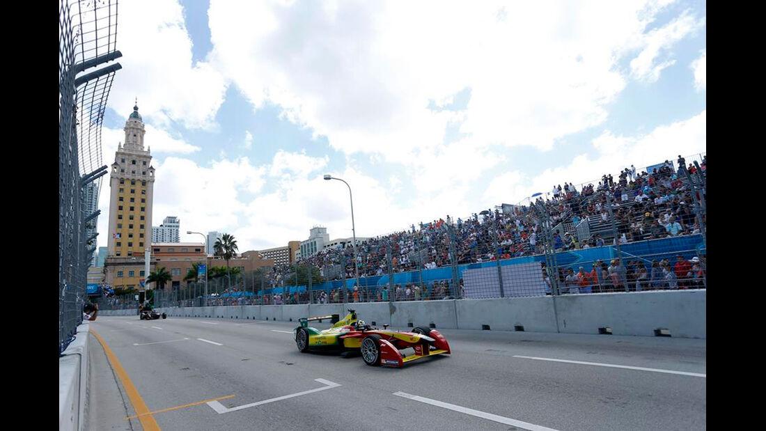 Formel E - ePrix - Miami - Lucas di Grassi - 14. März 2015