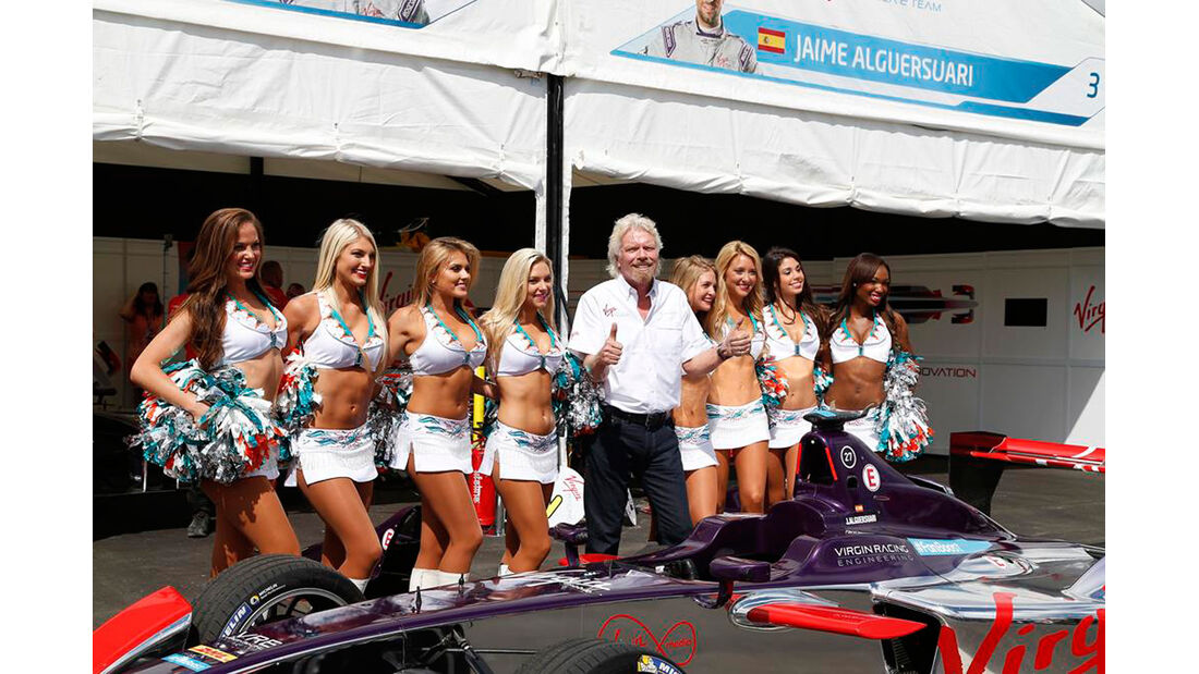 Formel E - ePrix - Miami - Richard Branson - Virgin Racing - 14. März 2015